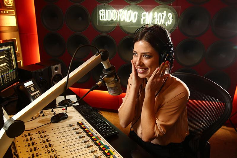 MF SAO PAULO/SP - 29/06/2016 - APRESENTADORA / MARTINELLI - CADERNO 2 - Roberta Martinelli, nova apresentadora da Radio Eldorado. FOTO: MARCIO FERNANDES/ESTADAO