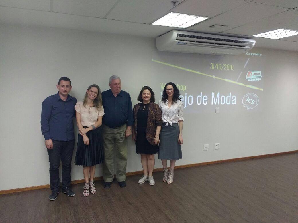 Fabiano Sousa, Paula Dalbelo, Felipe Cury, Patricia Santanna e Ana Vaz